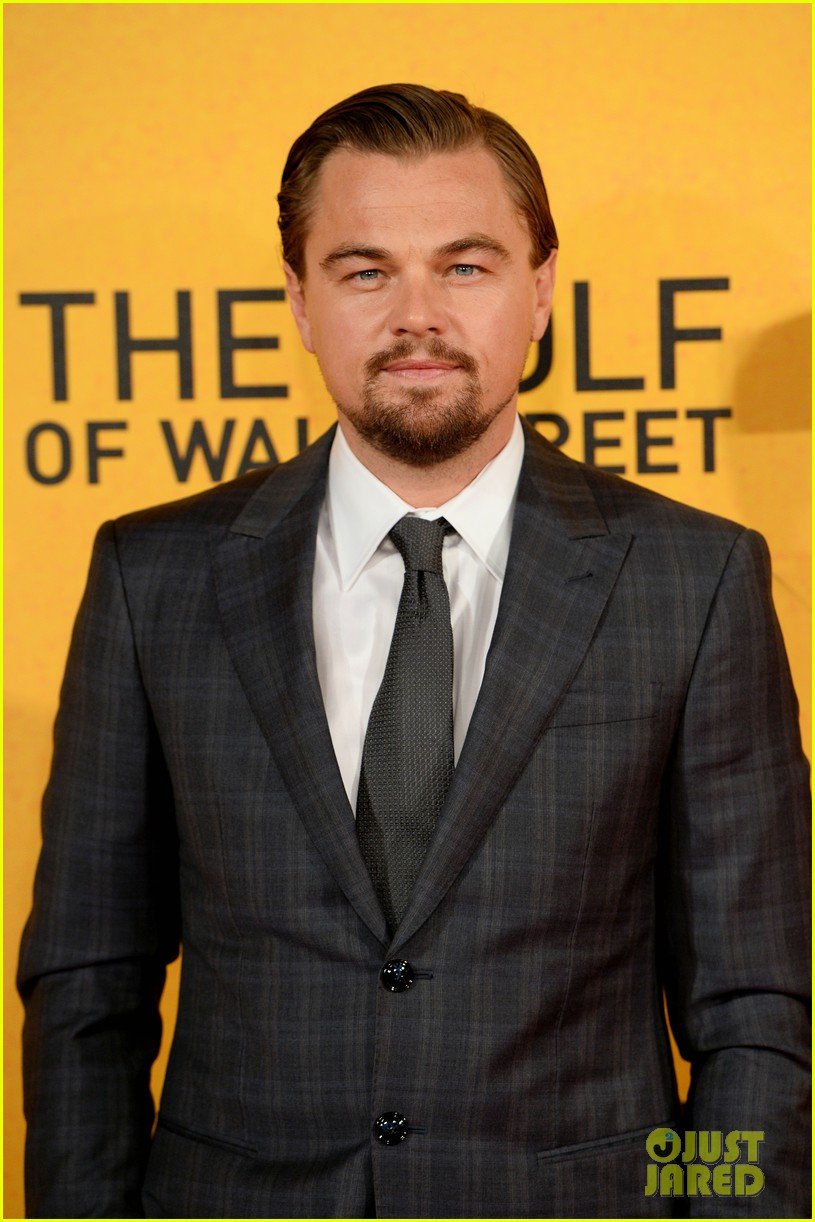 leonardo dicaprio margot robbie wolf of wall street uk premiere 153026309