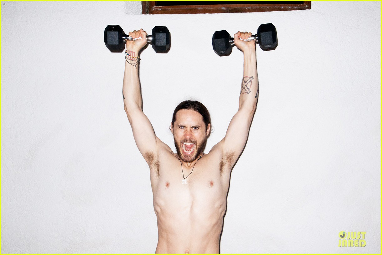 jared leto poses nude for new terry richardson photo shoot 033030606