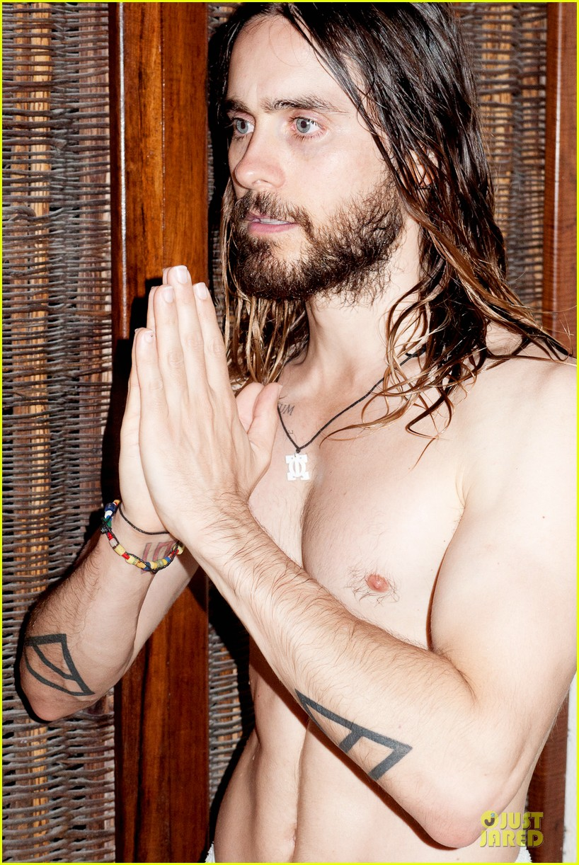 jared leto poses nude for new terry richardson photo shoot 043030607
