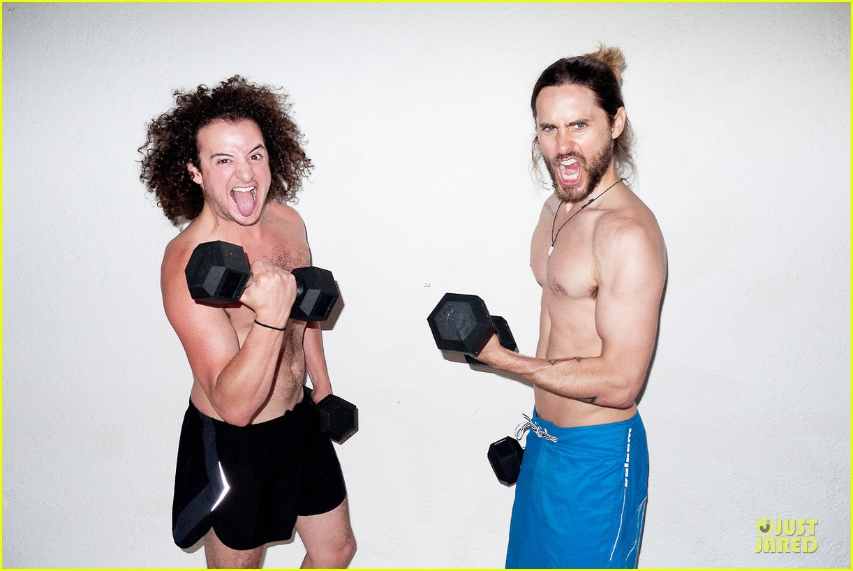 jared leto poses nude for new terry richardson photo shoot 063030609