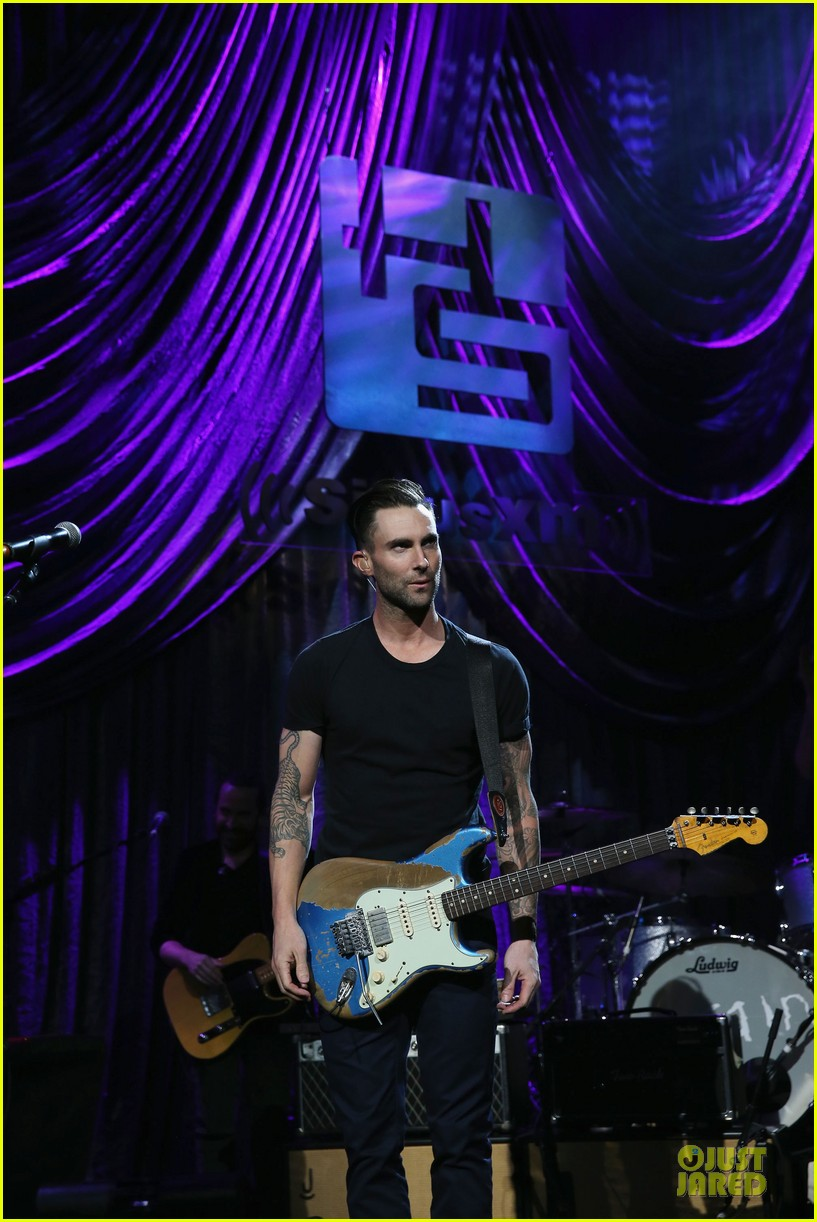 adam levine john mayer rockers at howard stern birthday bash 183045279