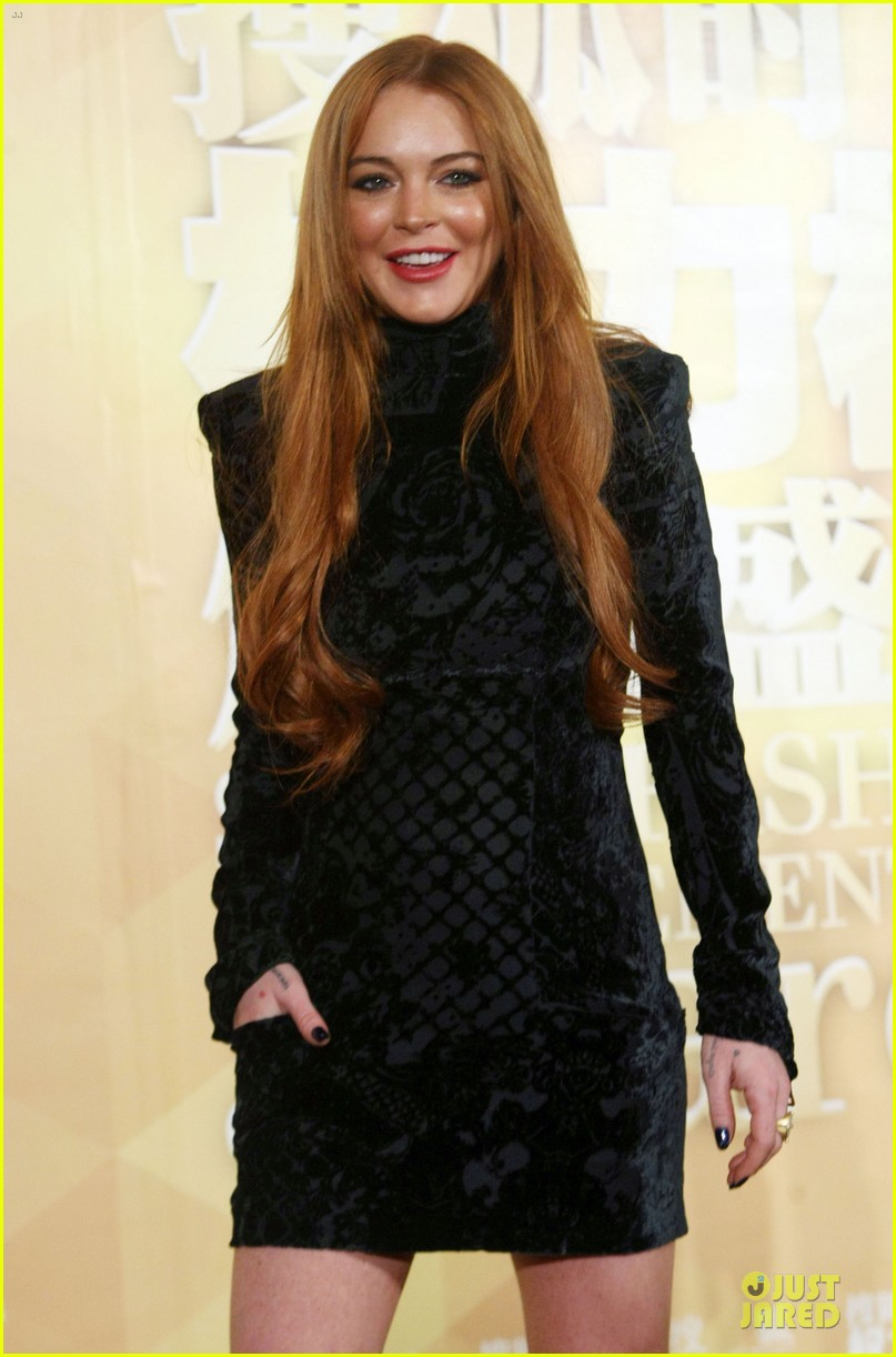 lindsay lohan sohu fashion achievement awards ceremony 13