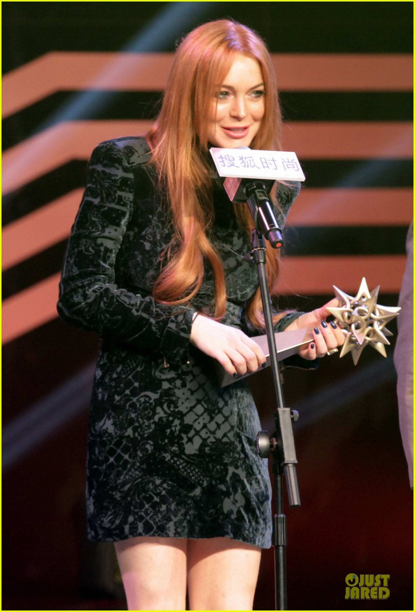 lindsay lohan sohu fashion achievement awards ceremony 183024174