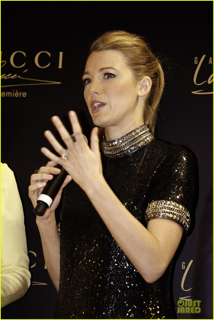 blake lively gucci premiere photo call 133022140