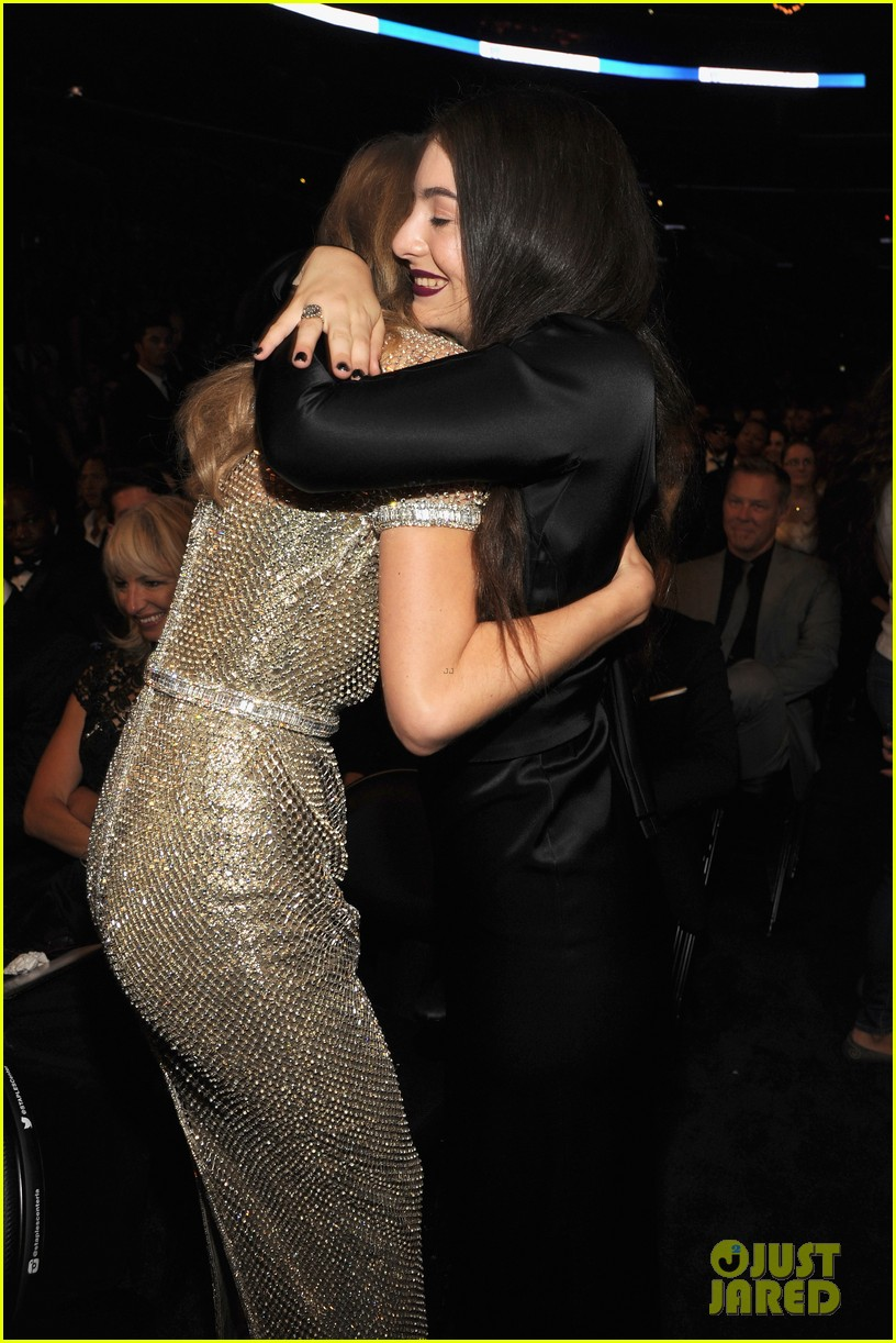 Lorde Meets Up with Taylor Swift After Her Grammys 2014 Win