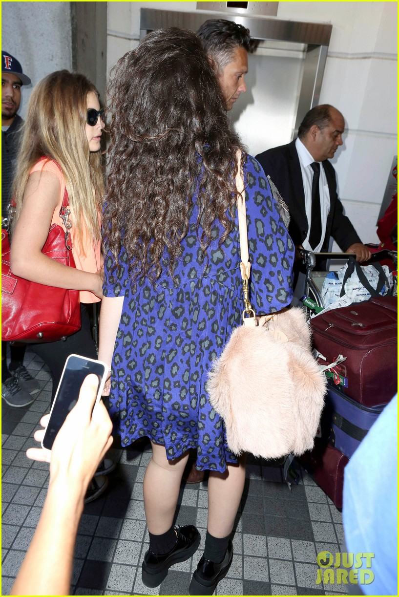 lorde arrives in town for grammy awards 2014 283038497