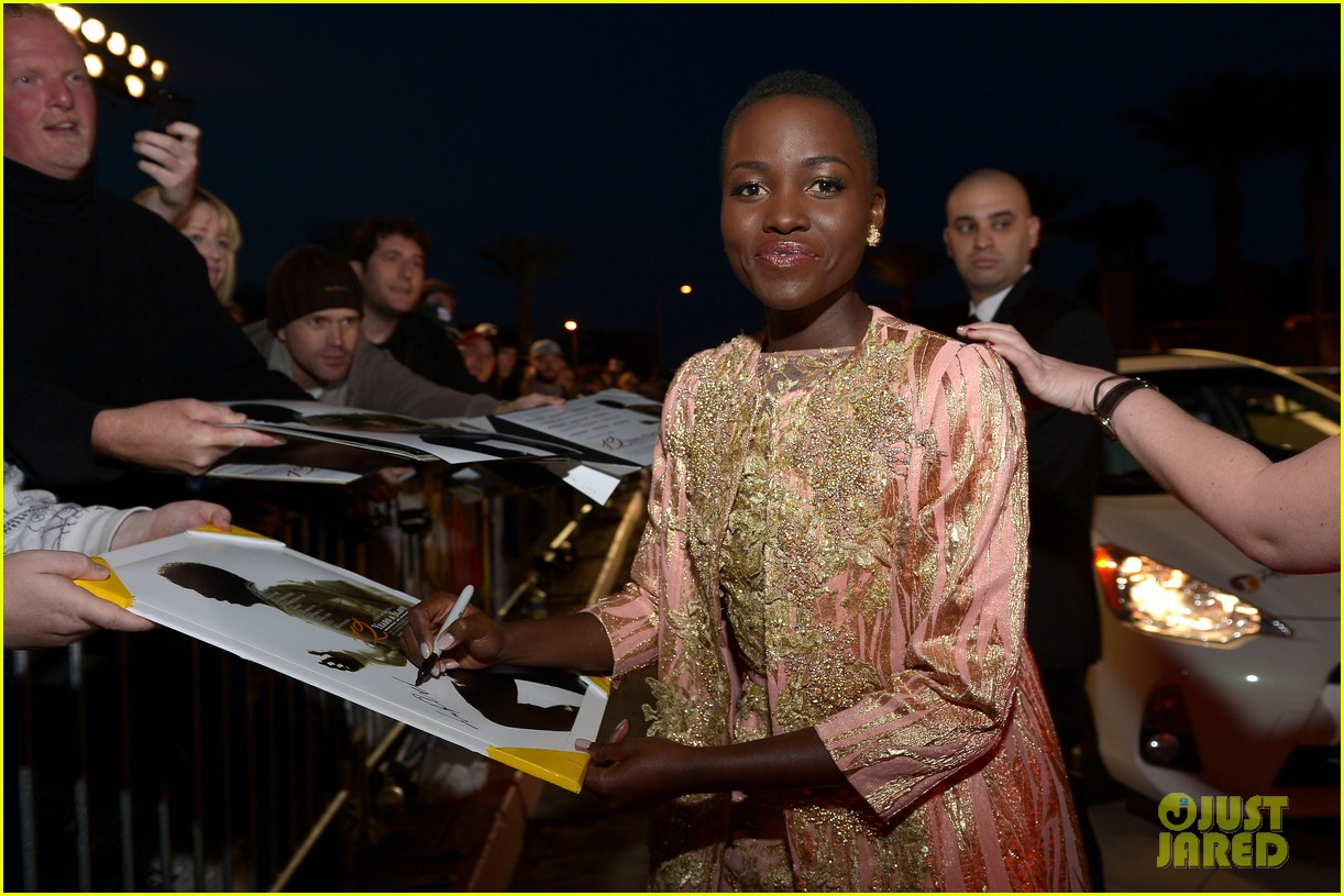 lupita nyongo chiwetel ejiofor palm springs film fest 2014 14