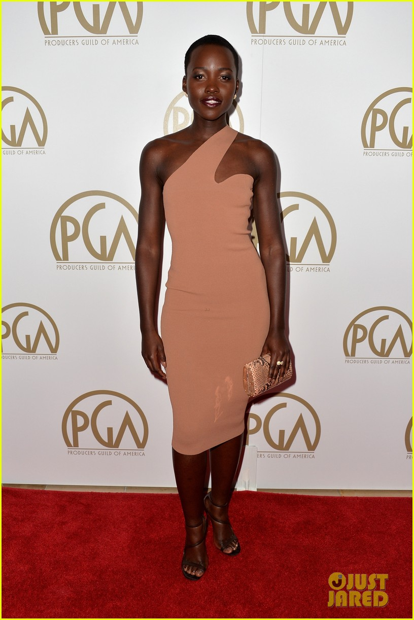 lupita nyongo producers guild awards 2014 red carpet 043035824