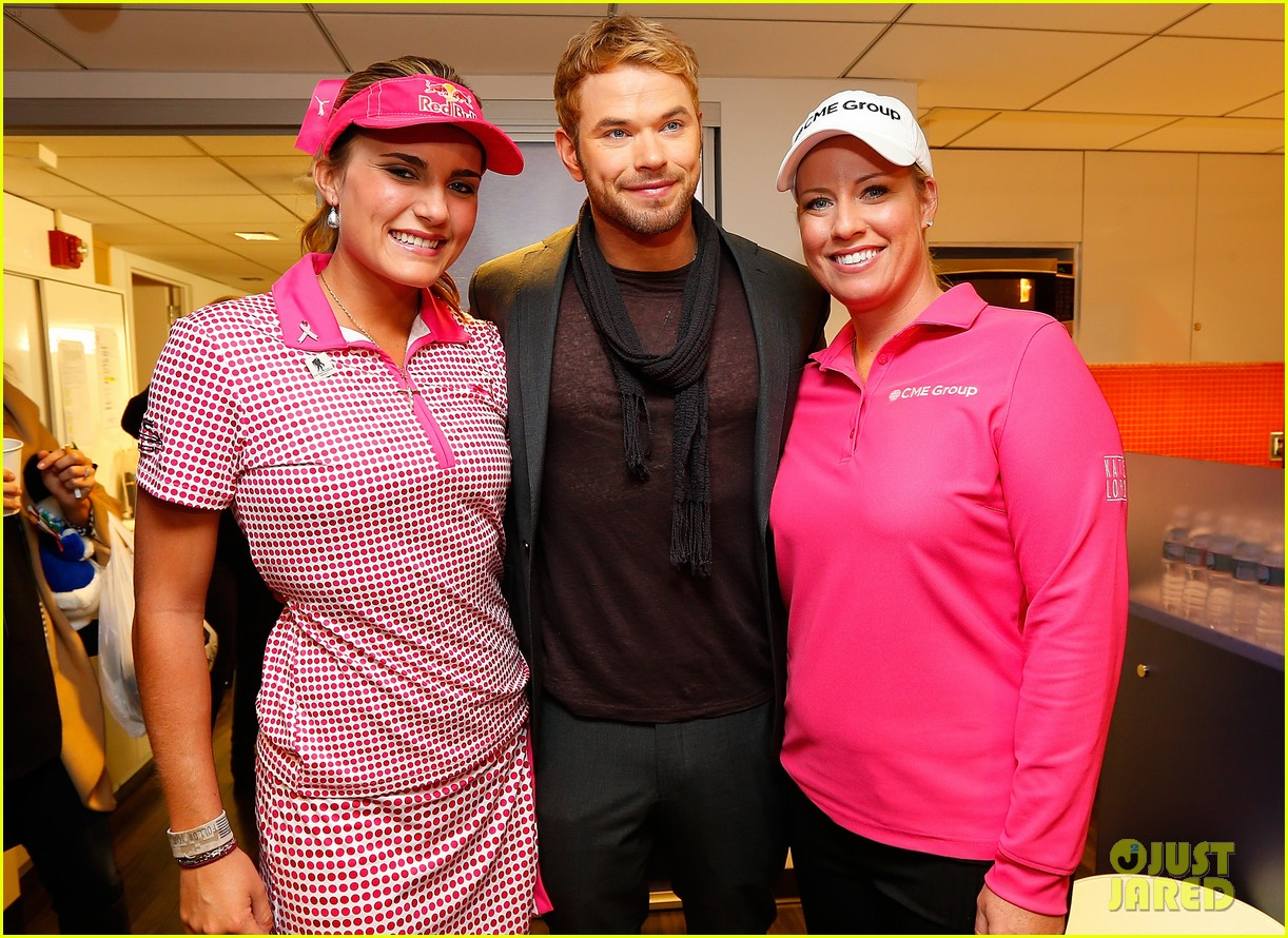 kellan lutz does a bollywood workout on kelly michael 09