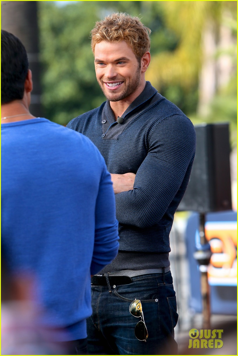 Kellan Lutz Shows Off Underwear During 'Hercules' Interview!: Photo ...
