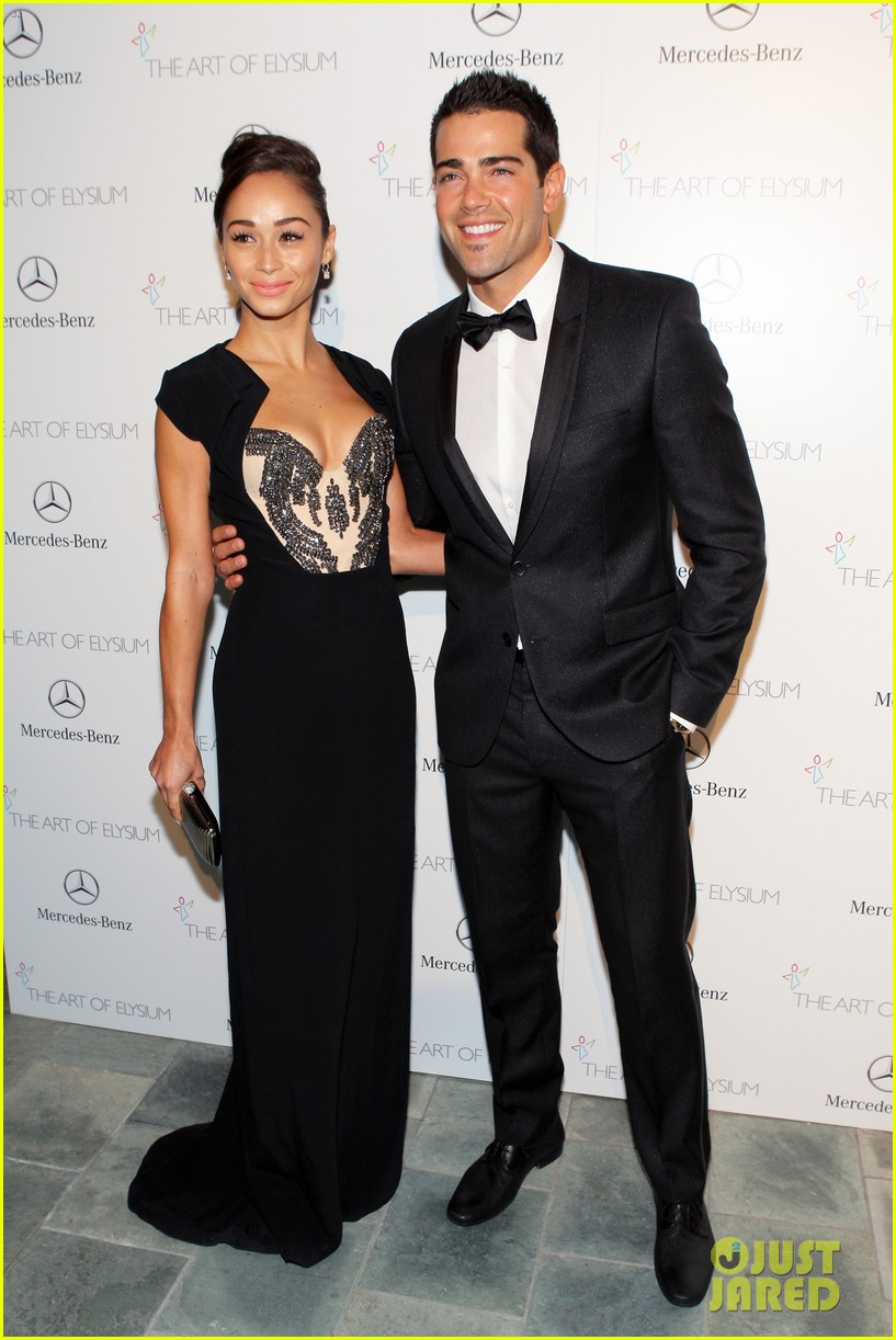 ashley madekwe jesse metcalfe art of elysium gala 2014 05