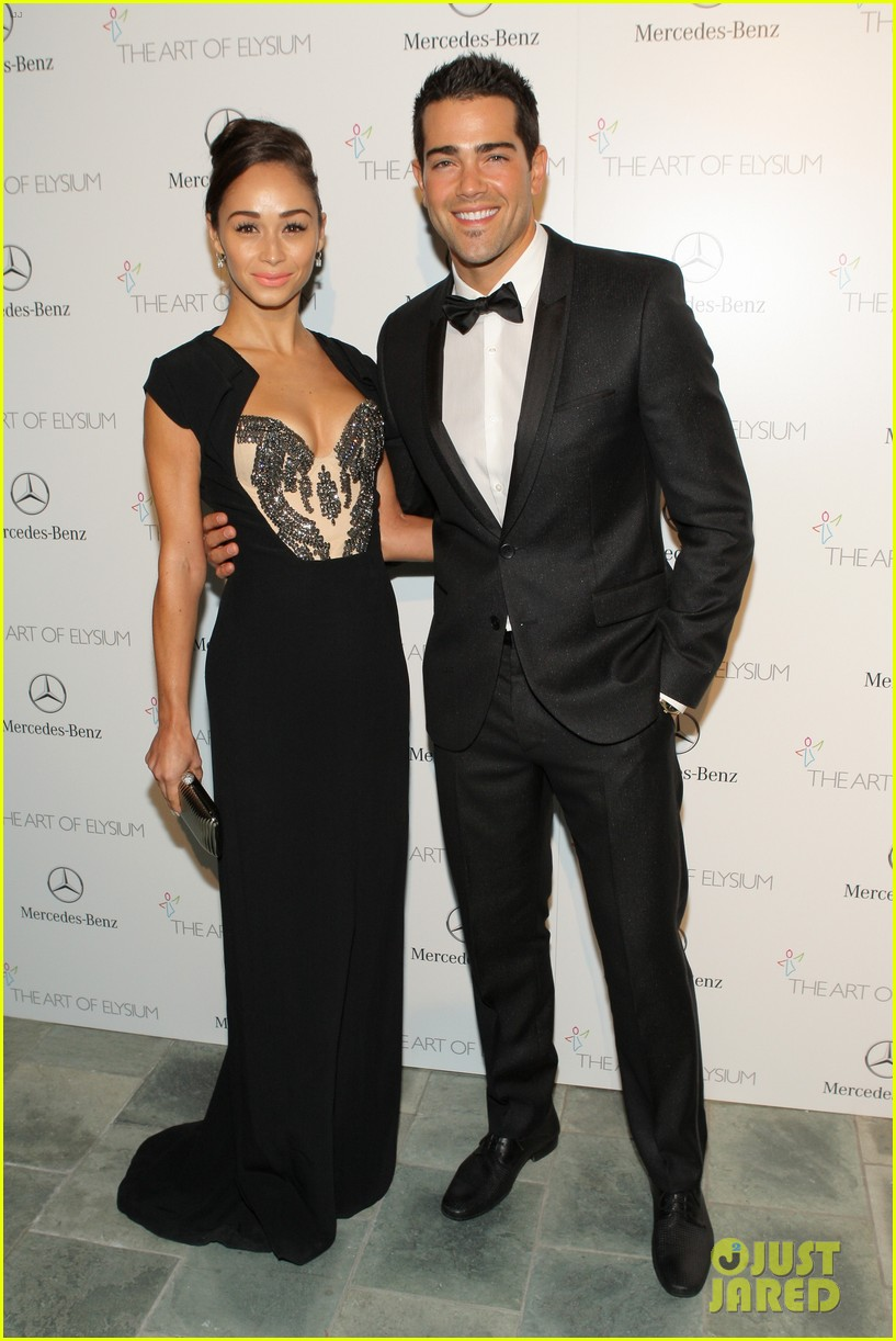ashley madekwe jesse metcalfe art of elysium gala 2014 113028524