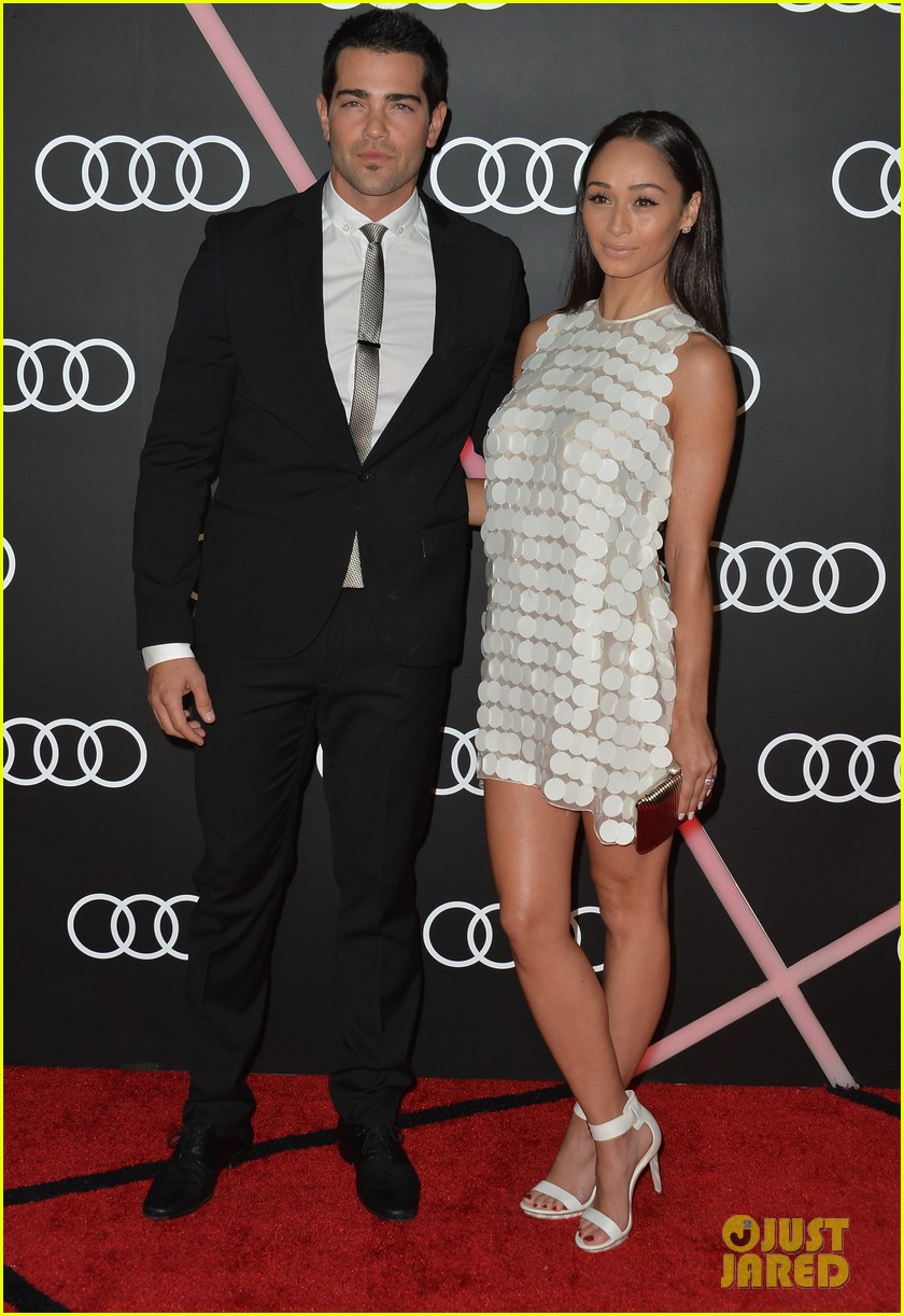 ashley madekwe jesse metcalfe audis golden globes party 053026874