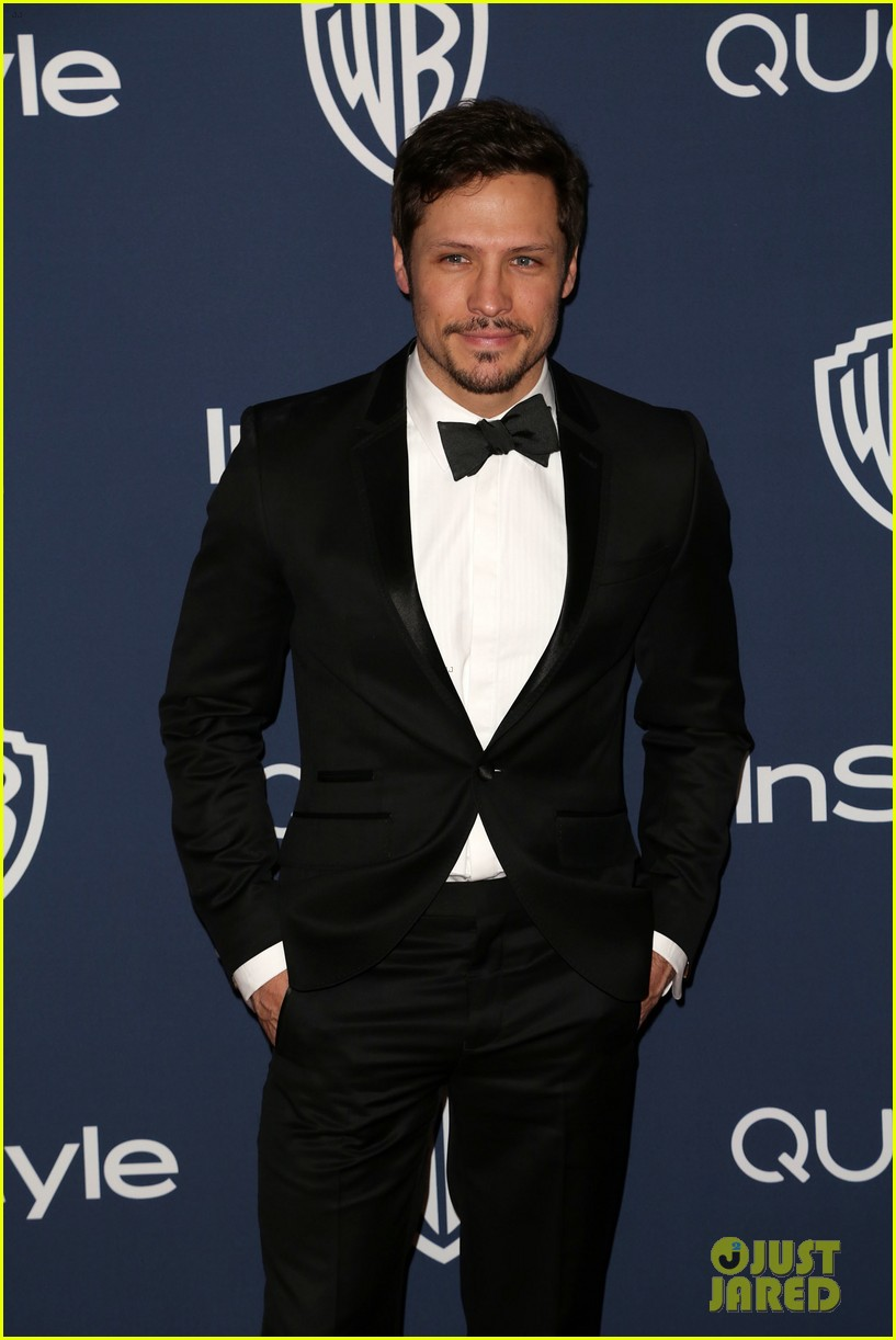 gabriel mann nick wechsler instyle golden globes party 2014 013030365