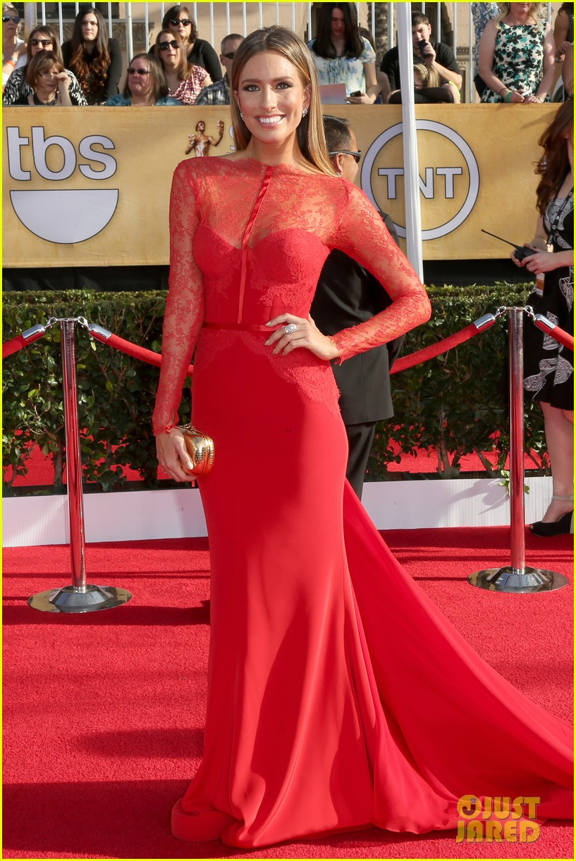 mario lopez nancy odell sag awards 2014 red carpet 053034548