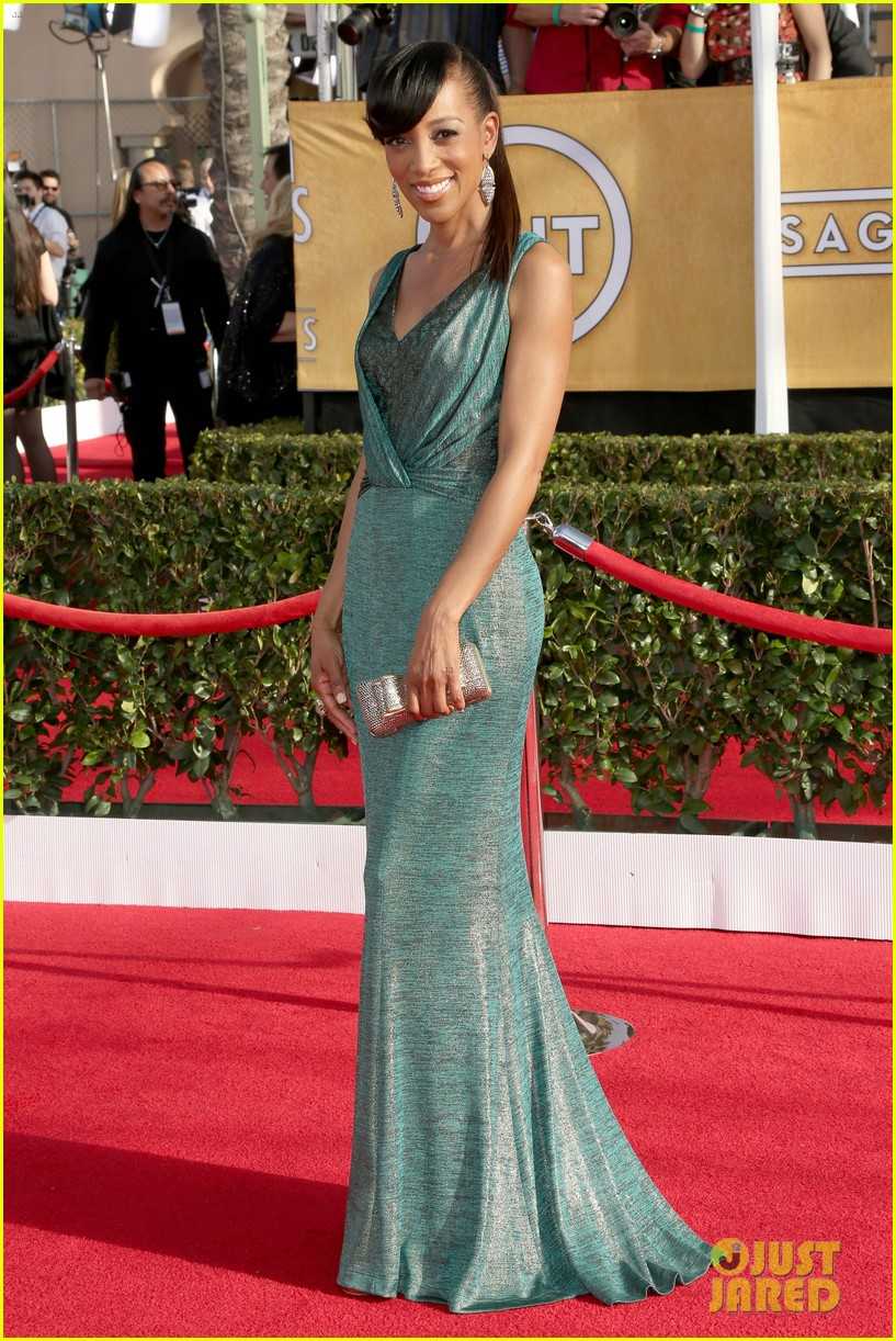 mario lopez nancy odell sag awards 2014 red carpet 073034550