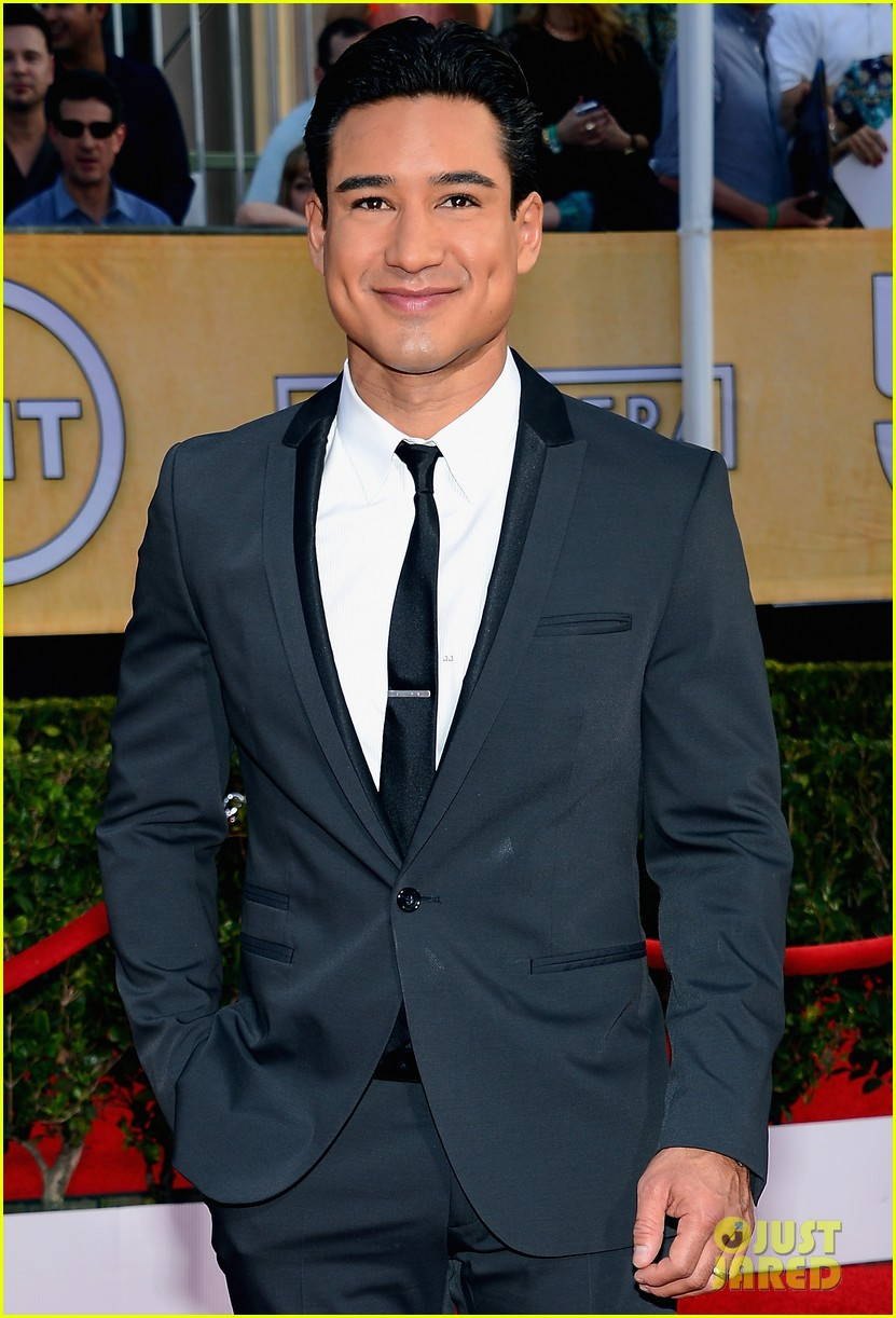 mario lopez nancy odell sag awards 2014 red carpet 183034561