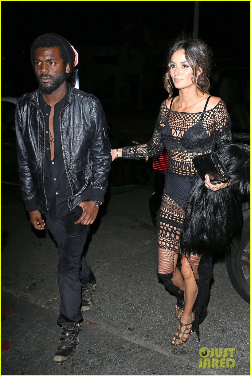 chris martin grammys 2014 after party with gary clark jr 053041964