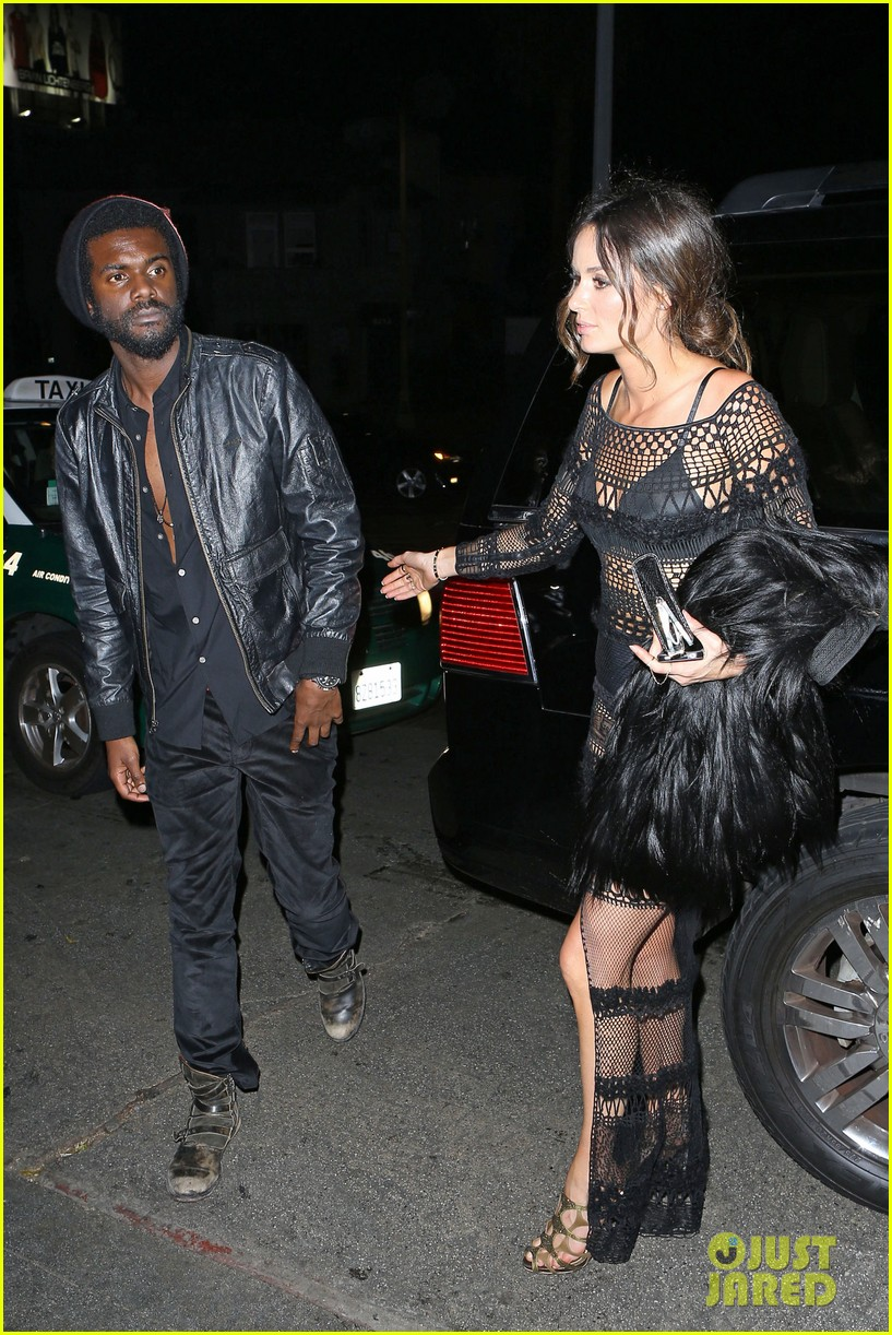 chris martin grammys 2014 after party with gary clark jr 063041965