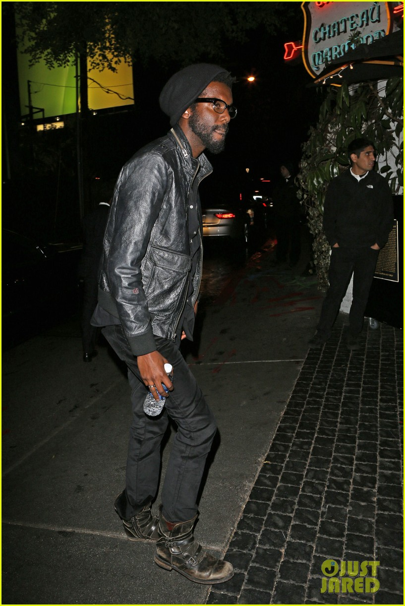 chris martin grammys 2014 after party with gary clark jr 123041971