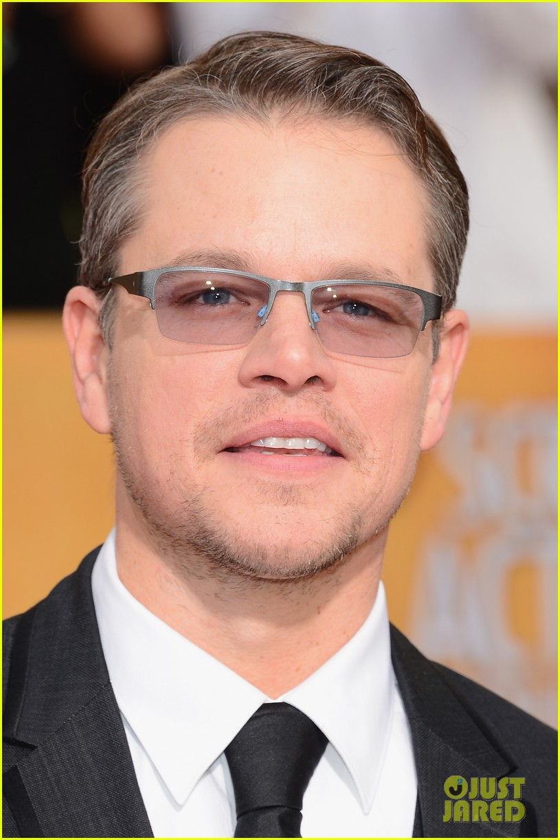 matt damon sag awards 2014 red carpet 043034640