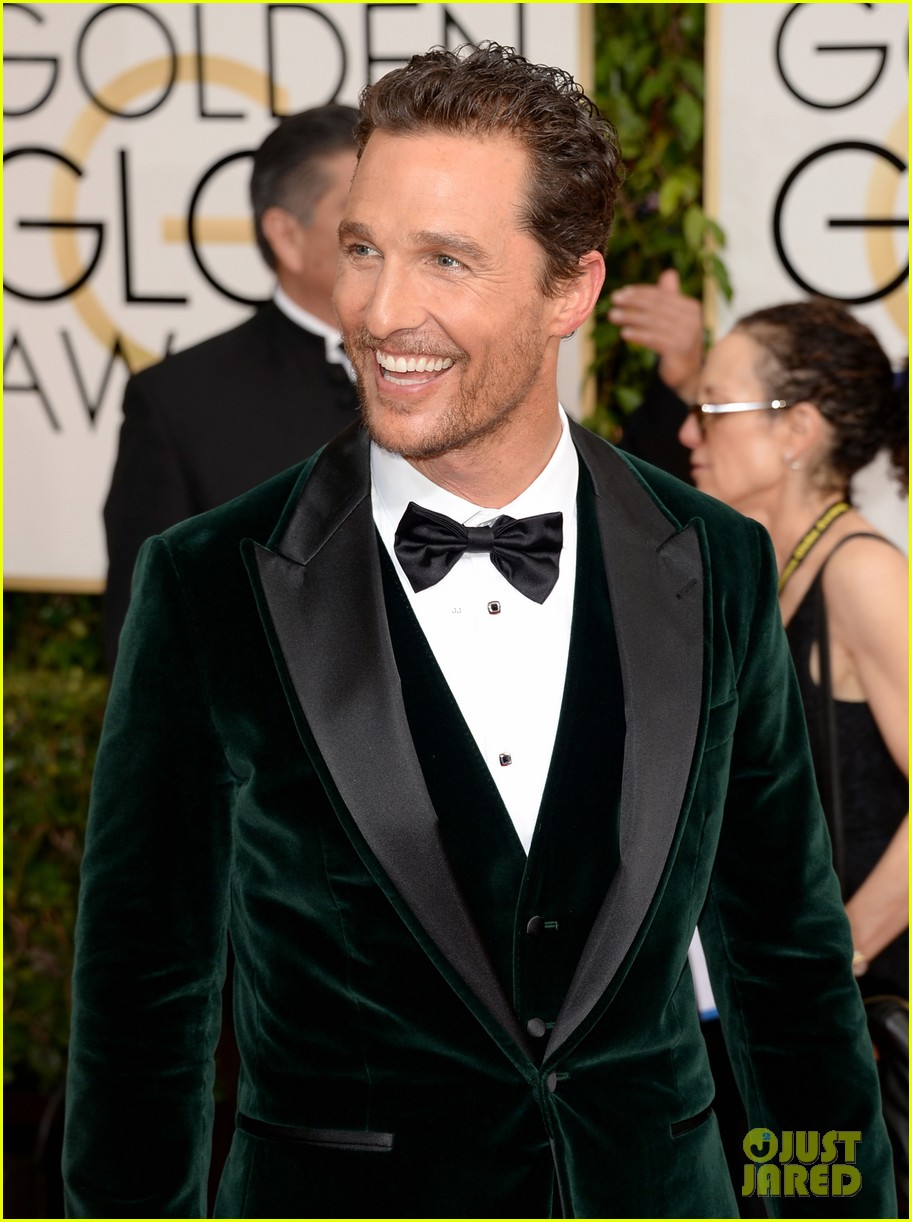 matthew mcconaughey golden globes 2014 with camila alves 053029246