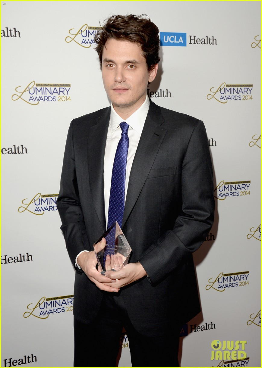 john mayer celine dion ucla luminary awards 2014 053038349