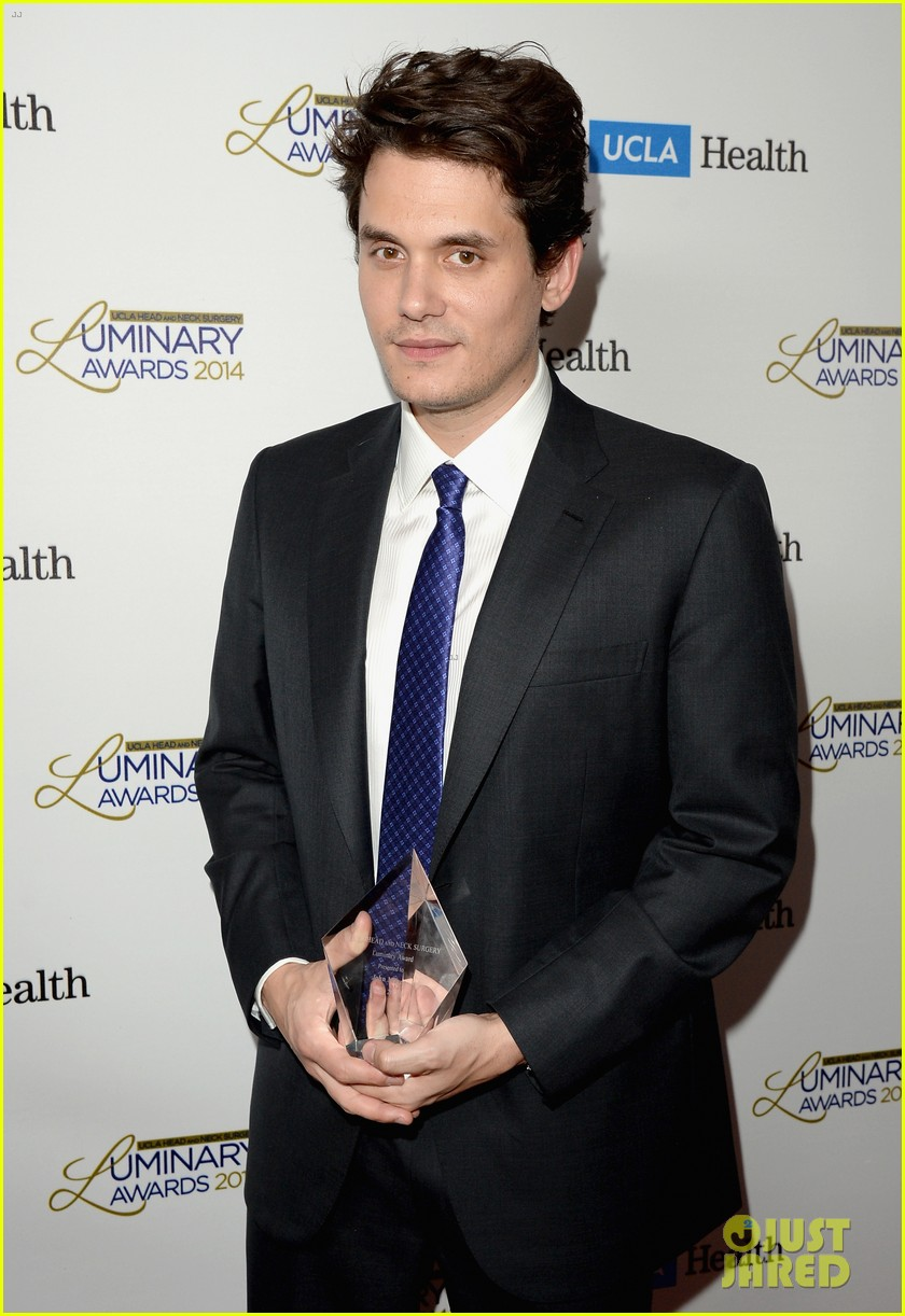 john mayer celine dion ucla luminary awards 2014 09