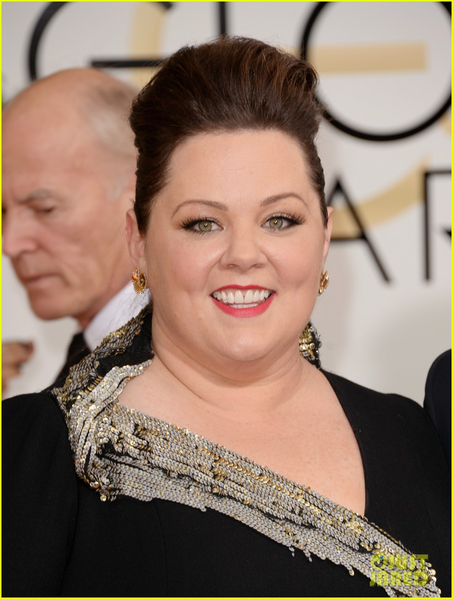 melissa mccarthy golden globes 2014 with ben falcone 023029619