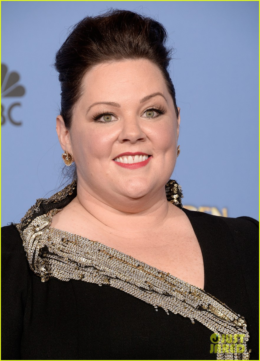 melissa mccarthy golden globes 2014 with ben falcone 073029624
