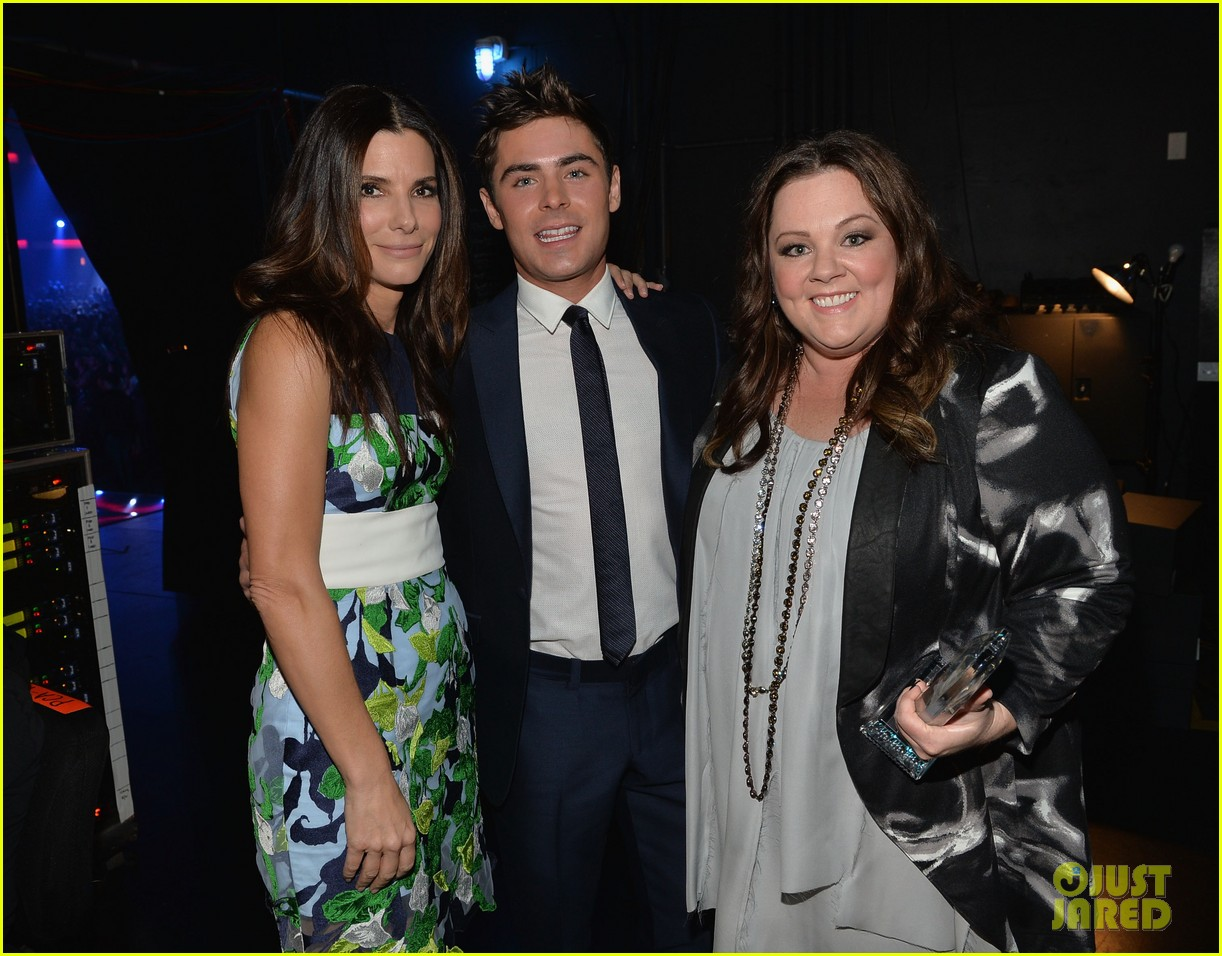 melissa mccarthy sandra bullock peoples choice awards 2014 12