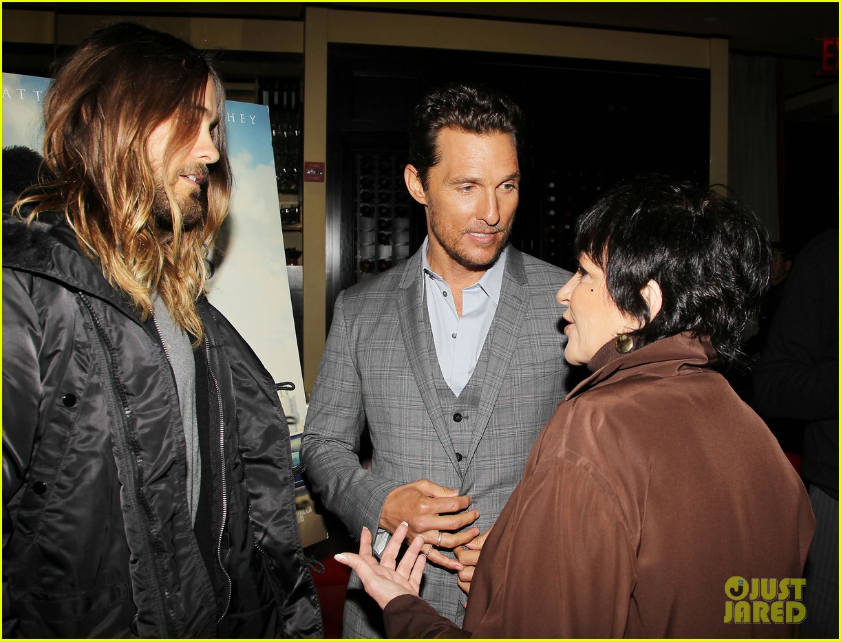 matthew mcconaughey jared leto dallas luncheon in nyc 11
