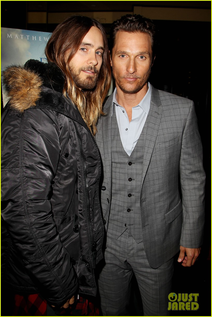 matthew mcconaughey jared leto dallas luncheon in nyc 183023876