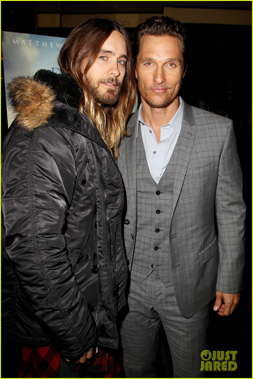 matthew mcconaughey jared leto dallas luncheon in nyc 193023877