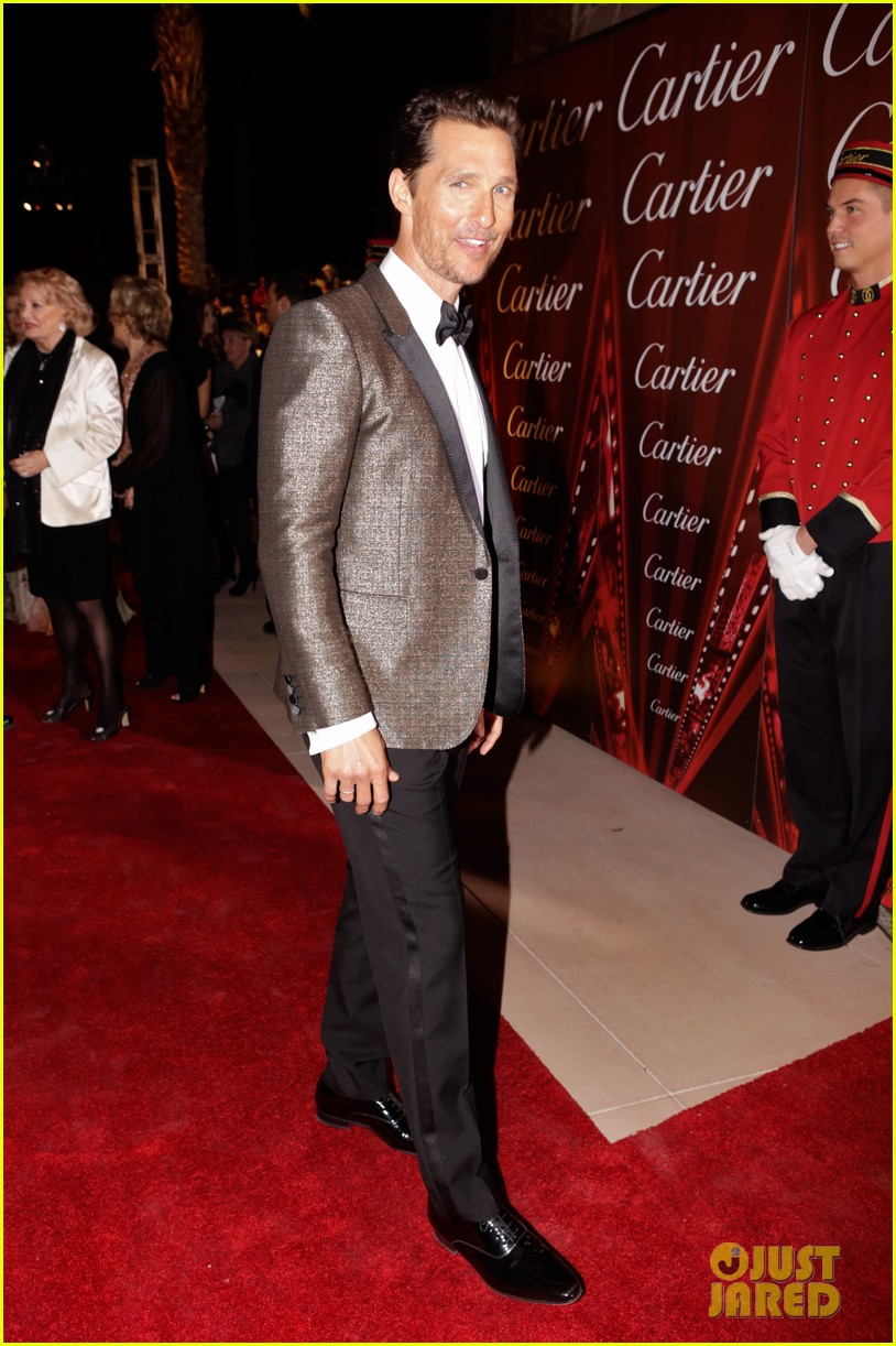 matthew mcconaughey camila alves palm springs film festival awards gala 2014 14