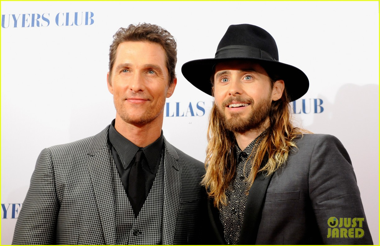 matthew mcconaughey jared leto reunite for dallas buyers club uk premiere 013043611