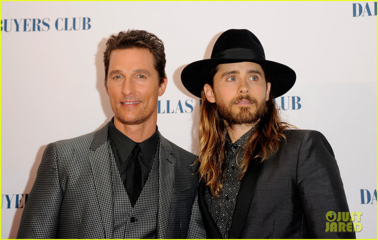 matthew mcconaughey jared leto reunite for dallas buyers club uk premiere 063043616