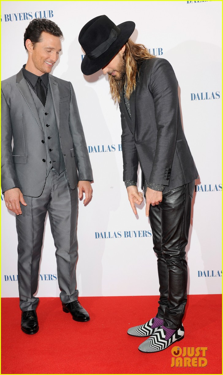 matthew mcconaughey jared leto reunite for dallas buyers club uk premiere 10