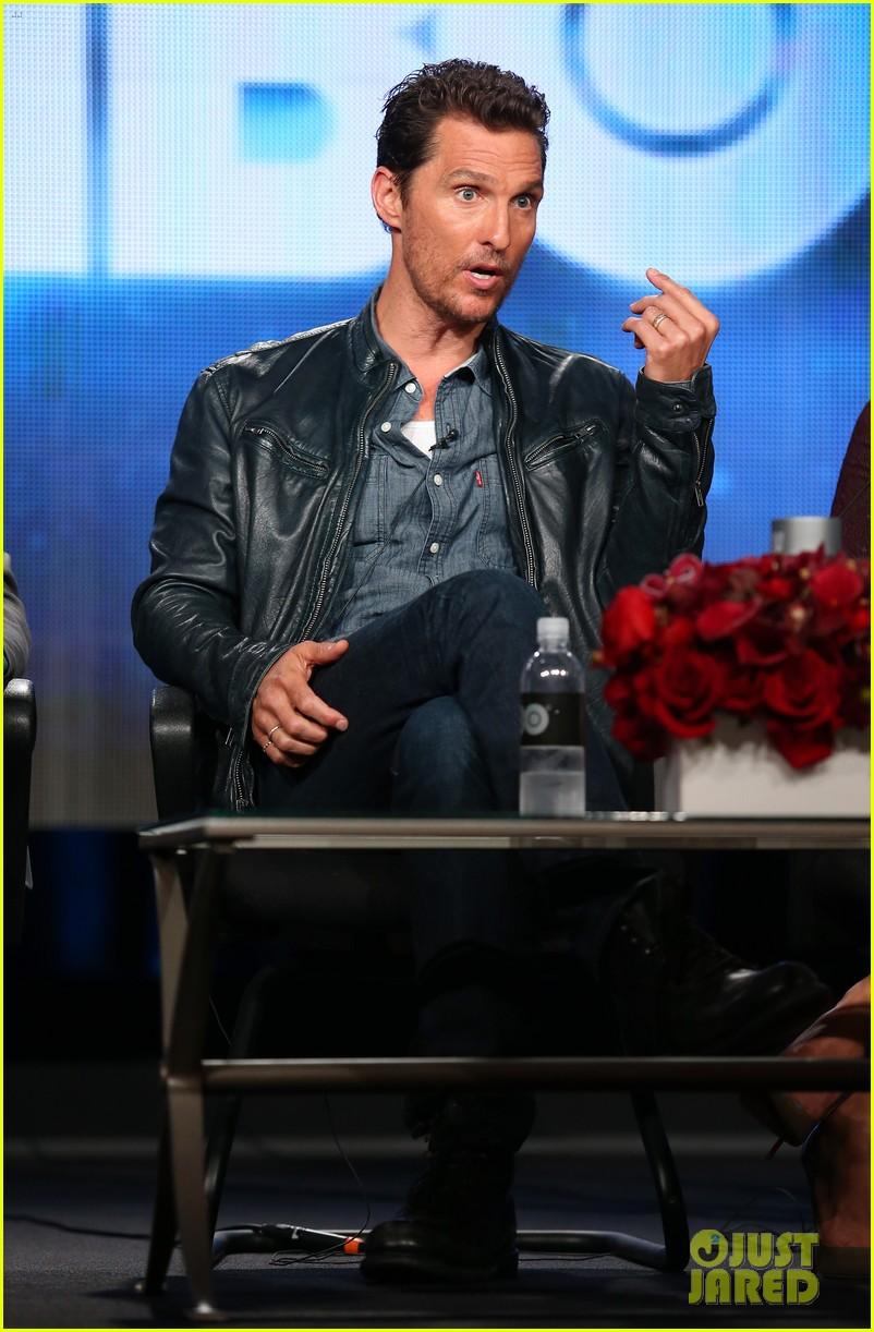 matthew mcconaughey true detective tca winter tour panel 013026504