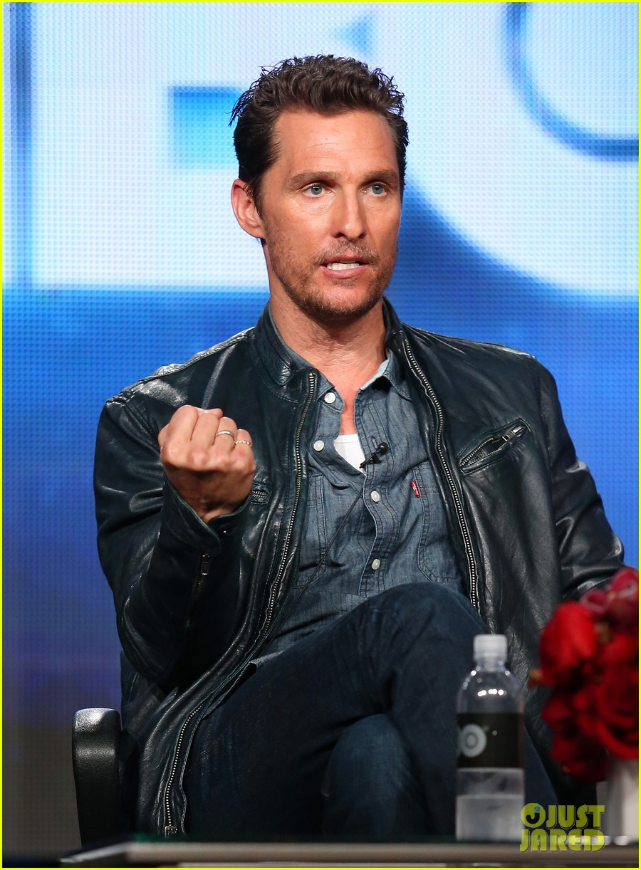 matthew mcconaughey true detective tca winter tour panel 163026519