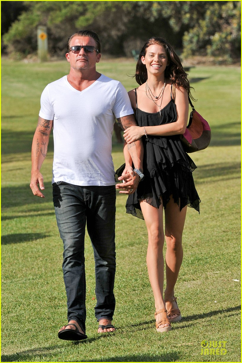 Dominic Purcell Annalynne Mccord BoyfriendDominic Purcell And Annalynne Mccord