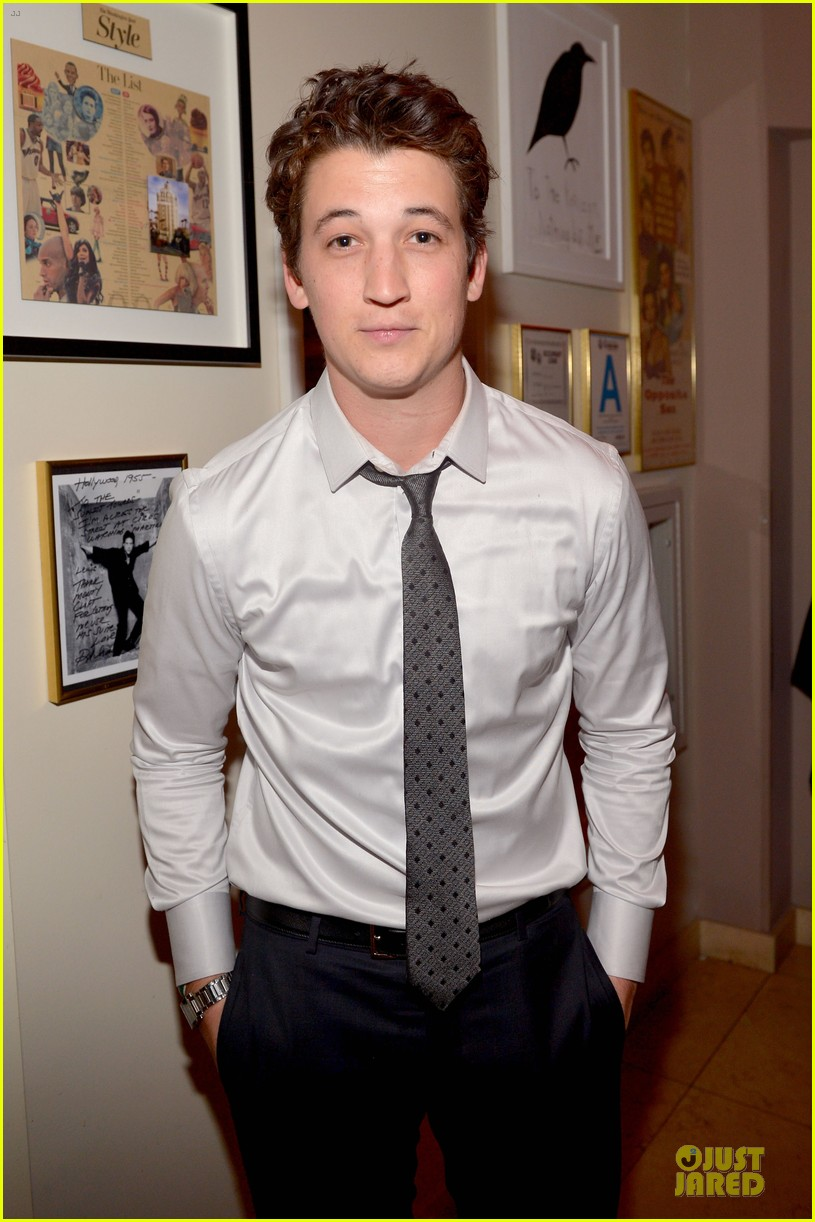 ben mckenzie miles teller warner music group grammys 2014 after party 023041756