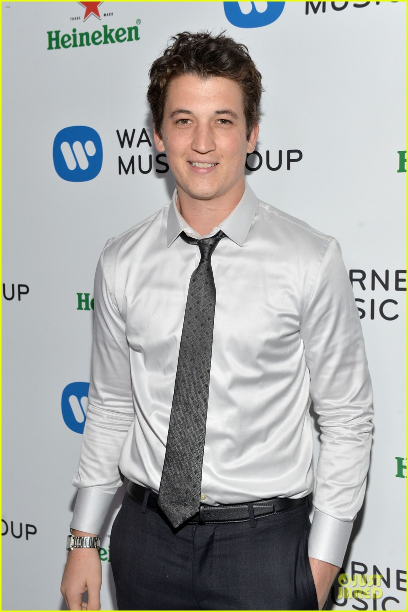 ben mckenzie miles teller warner music group grammys 2014 after party 053041759