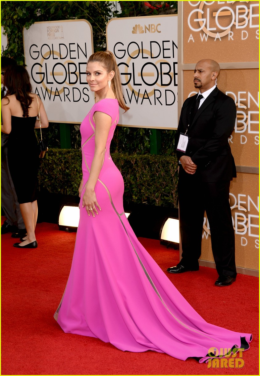 maria menounos golden globes 2014 red carpet 05