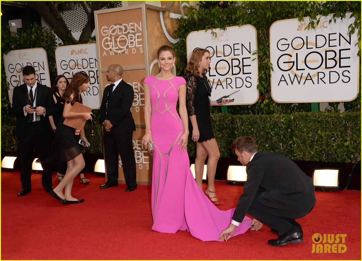 maria menounos golden globes 2014 red carpet 093029055