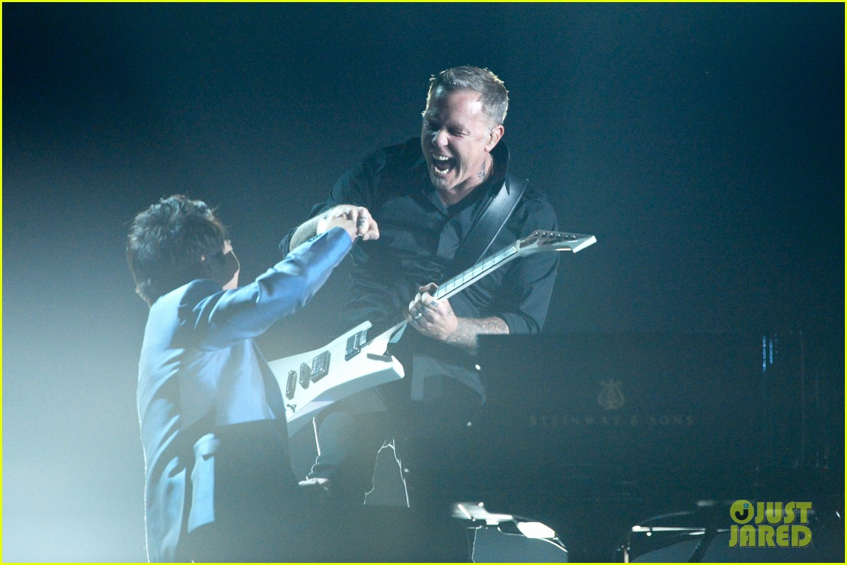 metallica one with lang lang at grammys 2014 video 113041705