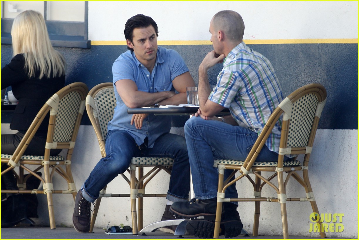 milo ventimiglia bares muscles for los angeles lunch 033033582