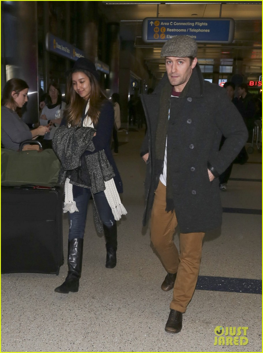 matthew morrison renee puente lax landing with jc chasez 093021822