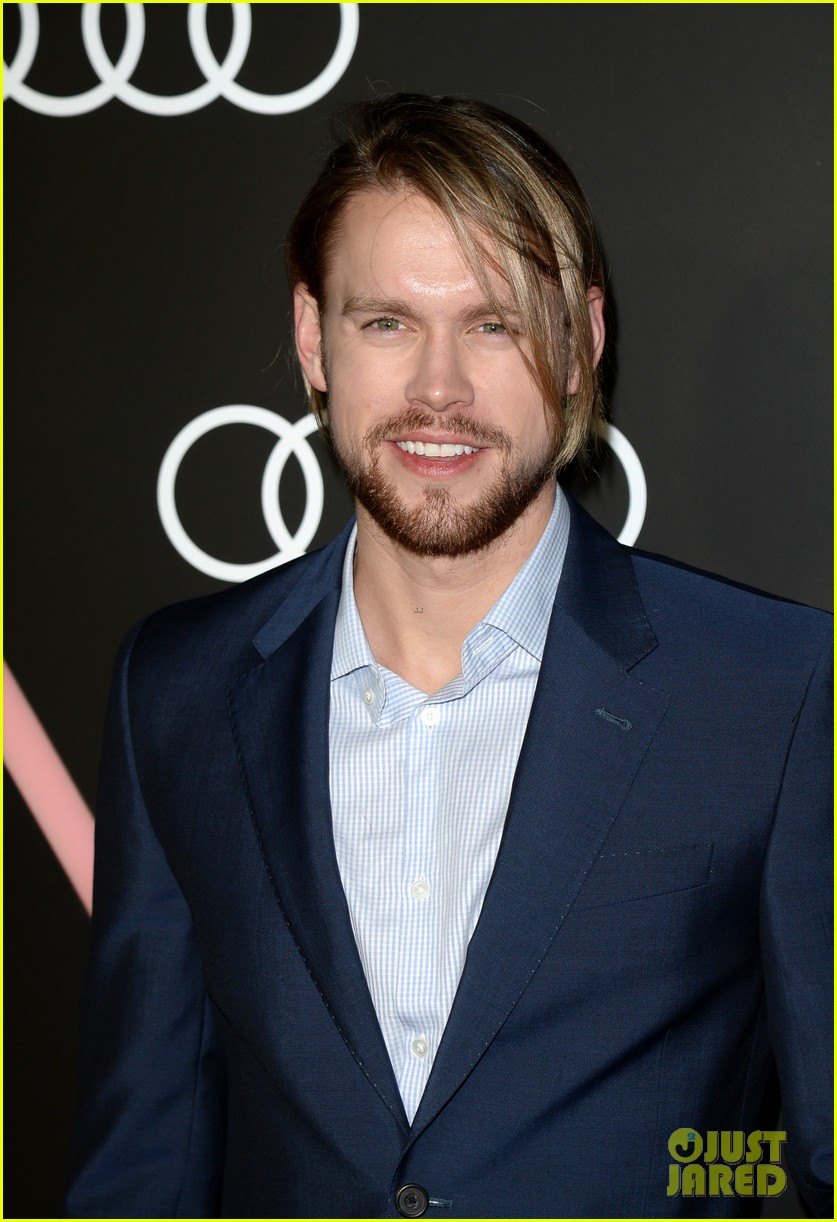 matthew morrison chord overstreet pre golden globes party 173026920