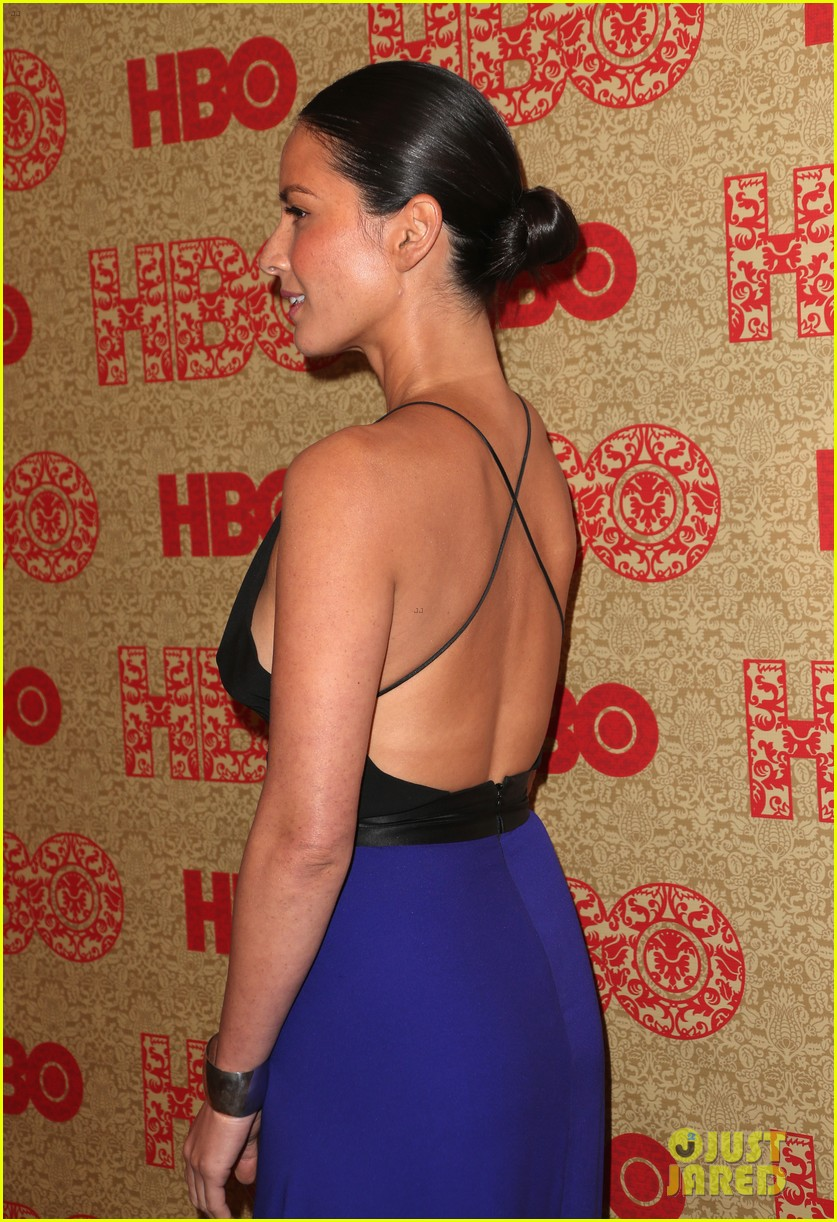 olivia munn hbo golden globes after party 2014 033030025
